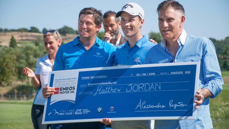 Matthew Jordan vince l'Italian Challenge a Terre dei Consoli