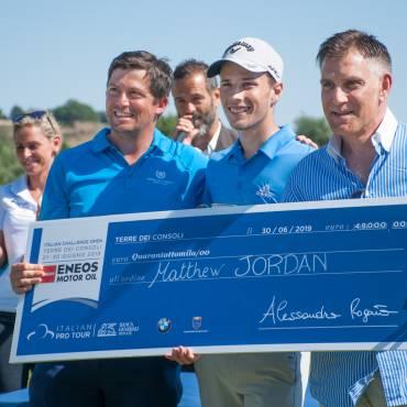Matthew Jordan wins the Italian Challenge in Terre dei Consoli